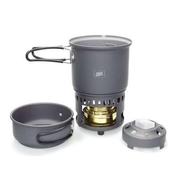 HORNILLO cookset combustible solido 985 ml conjunto Esbit