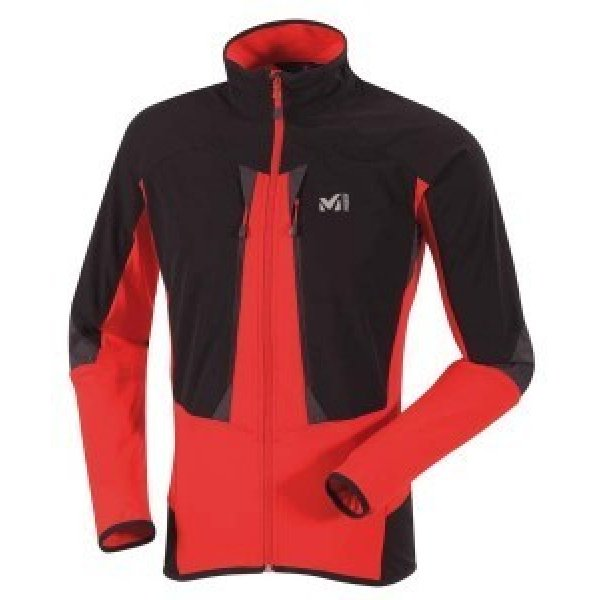 CHAQUETA millet pro lighter thermal red black man
