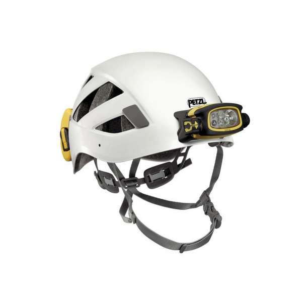 Duo Z2 instalado en casco PETZL
