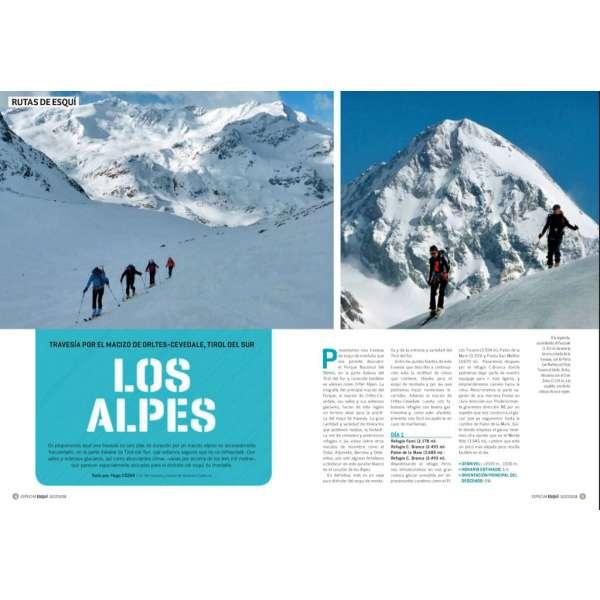 Especial esqui montana 2018 rutas DESNIVEL