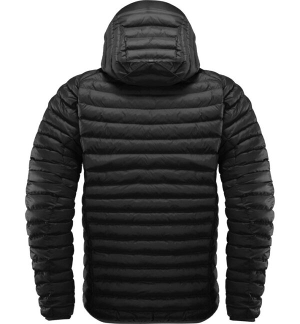 Essens Mimic Hood Men Magnetite True Black espalda HOGLOeFS