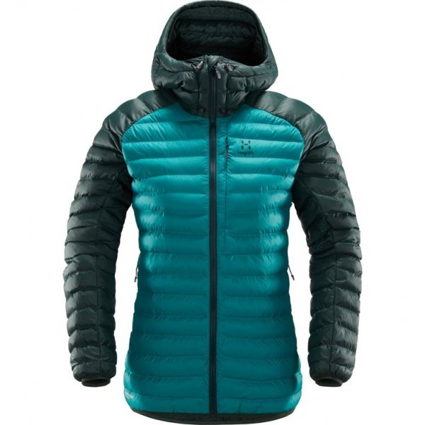 Essens Mimic Hood Women Alpine green mineral HOGLOeFS