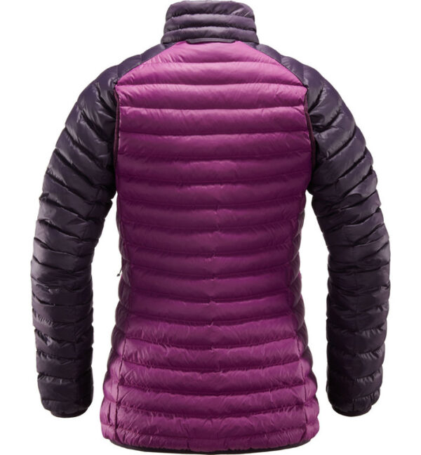 Essens Mimic Jacket Women espalda Lilac acai berry HOGLOeFS