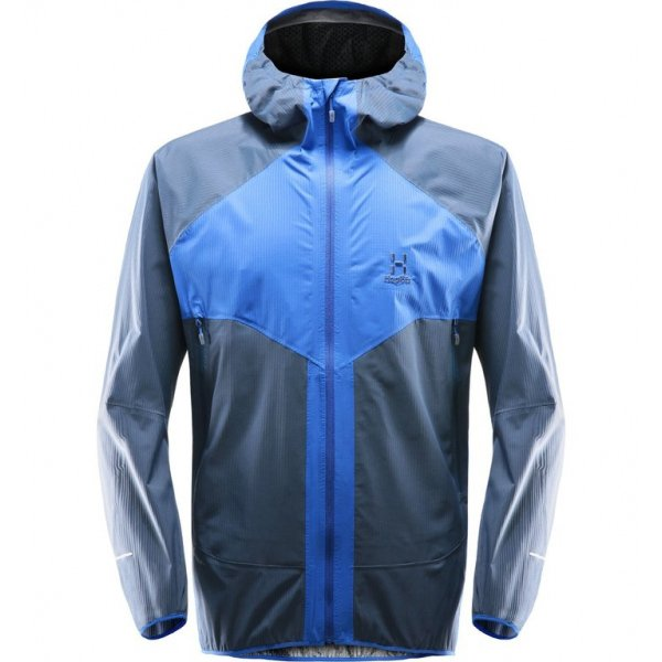 L.I.M PROOF Multi Jacket Men Cobalt Blue Tarn Blue HAGLOeFS