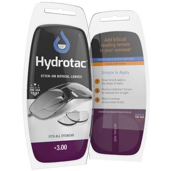 Lentes bifocales hydrotac