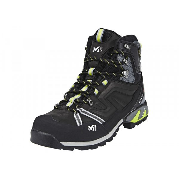 Millet High Route GTX Shoes Men charcoal acid green
