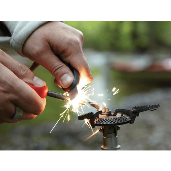 Swedish FireSteel 2.0 scout LIGHT MY FIRE como encender un hornillo. 1