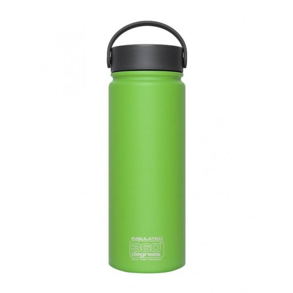 Wide Mouth Insulated 550ml Green 360 186 DEGREES