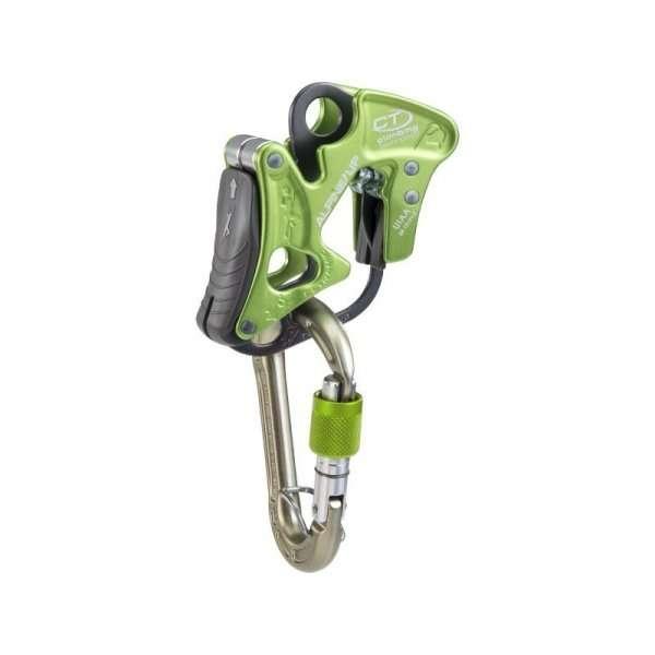 asegurador descensor climbing technology alpine up kit green