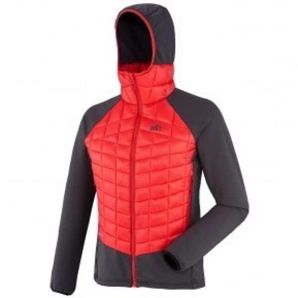 hybrid needles hoodie millet