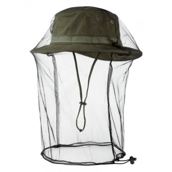 jungle hat olive mosquito net trekmates 1