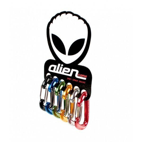 mosqueton pulsar alien rojo
