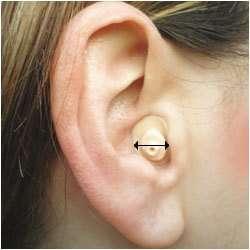 Tapones acuaticos medida del oido MICRO TAP 1