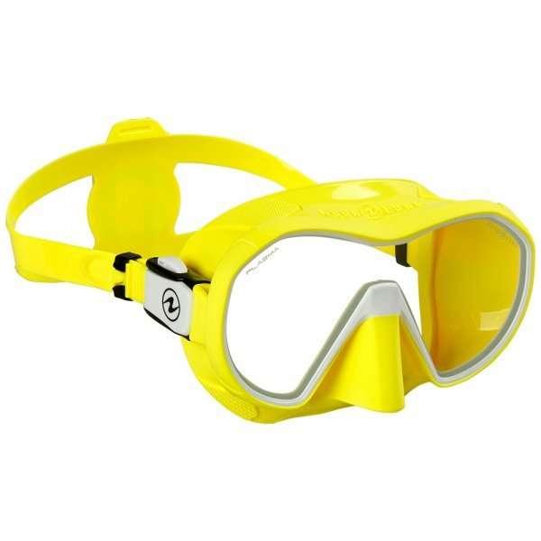 mascara plazma amarillo aqualung